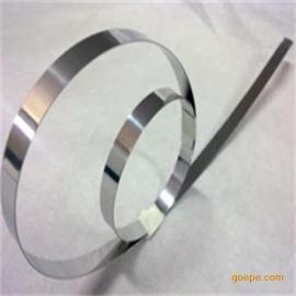 进口304冷轧冲压带,模具冲压件弹簧带生产、不锈钢无磁带