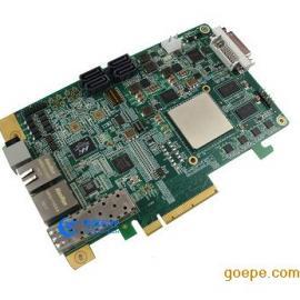基于FPGA K7处理节点的光纤网络验证平台PCIE板卡光纤卡