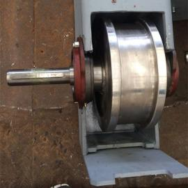 200欧式车轮博能SEW起重机用出轴车轮40Cr材质铸钢
