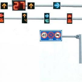 深圳交通标志牌杆制作T型杆Y型杆八角杆龙门架交通信号灯杆