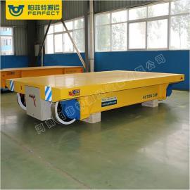 蓄电池过跨车模具转运电动平车平板拖车