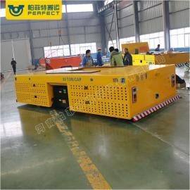 汽车结构件搬运车爬坡轨道过跨车30吨10吨可定制电动横向转运车
