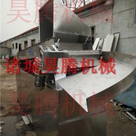 昊腾机械小型宰鸡全自动船式浸烫池厂家促销