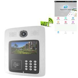 身份证id卡门禁 楼宇可视对讲机 可用手机app对讲门禁