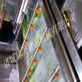 供应蔬菜清洗机 全自动气泡清洗机 水果蔬菜清洗机 佳美机械