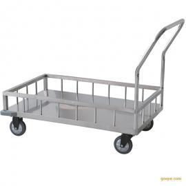 昂派UP-30015医用不锈钢单层运输车平板推车