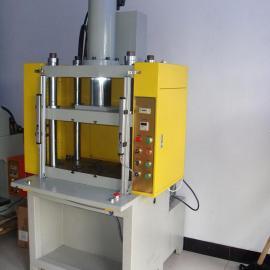 供应铝制品铝合金冲切机,机,四柱切边机,冲边机,毛刺除边机