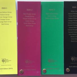 英国 皇家园林 RHS植物比色卡 第六次修订