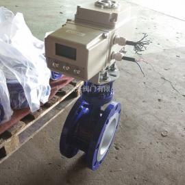 精小型电动执行器系列调节型电动蝶阀生产厂家
