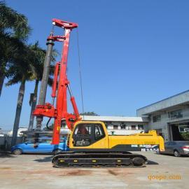 2017年新款旋挖钻机厂家供应旋挖钻机海峨22米