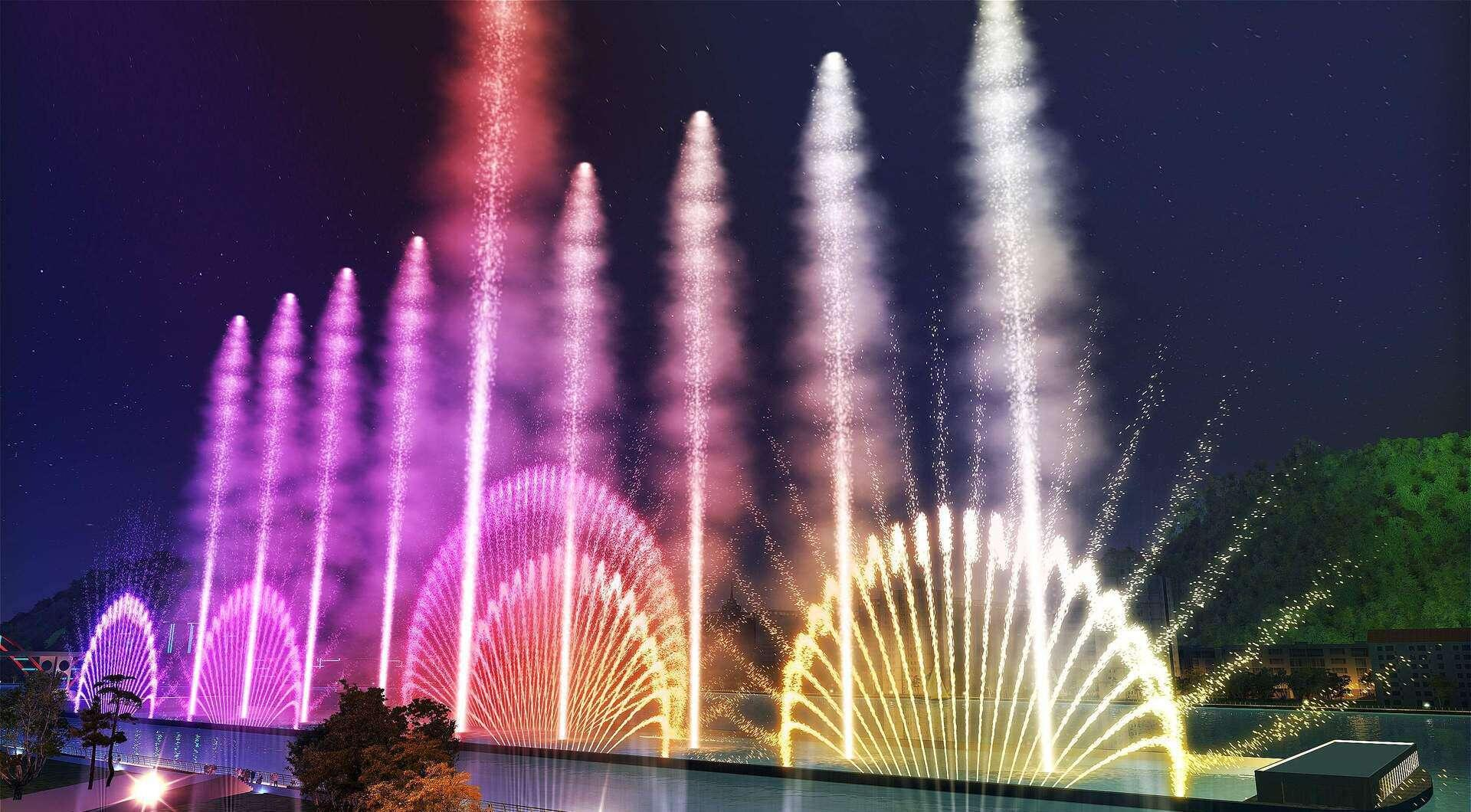 绍兴音乐喷泉-绍兴喷泉施工