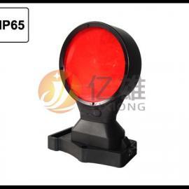 铁路施工警示灯,火车磁吸式防护信号灯,磁吸式铁轨防护双面灯