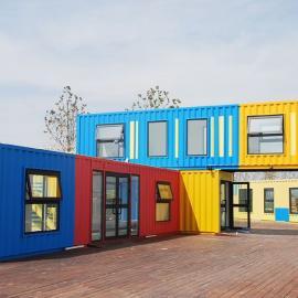 集装箱房屋时尚简洁 方便 集装箱活动房屋 按图定制
