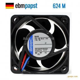 德国原装进口风机624M变频器散热风扇6025 24v