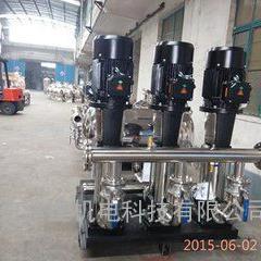 蓝田箱式变频供水设备