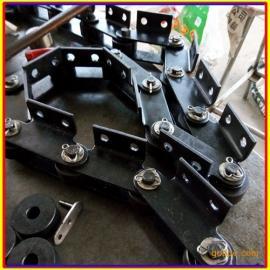 供应滚子链条 输送链条 悬挂链条 喷涂悬挂链 碳钢长条链 定制