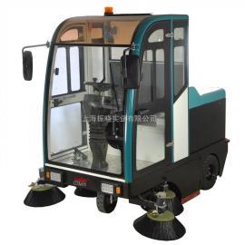园区清洁用工业吸尘器驾驶式扫地机机场地面用驾驶式扫地机