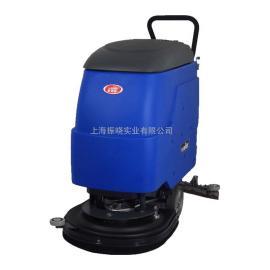 商用手推擦地机 威德尔电动洗地机 超市擦洗地面污水污泥用