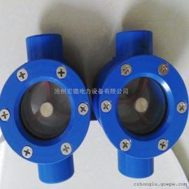 铝合金直通视镜、法兰连接视镜低价直销保证质量