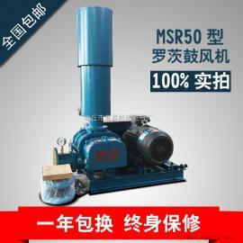 厂家直销MSR50三叶罗茨鼓风机污水处理水产养殖专用