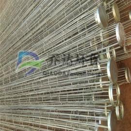 供应钢厂用接头式滤袋袋笼/泊头镀锌除尘骨架骨架价格