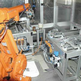 二手工业喷涂机器人 松下喷涂机器人 焊接机器人围栏