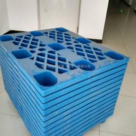 1210网格轻型网格九脚托盘外贸出口塑料托盘栈板塑胶卡板
