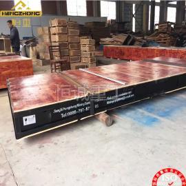 江西恒诚沙金摇床4500x1830大型金矿摇床出口欧洲