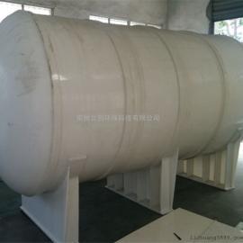 加工PP卧式储罐盐酸储运输罐塑料卧式运输罐