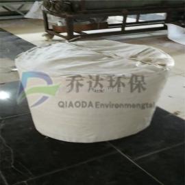 供应水泥厂空气斜槽透气布/耐高温帆布透气层生产厂家