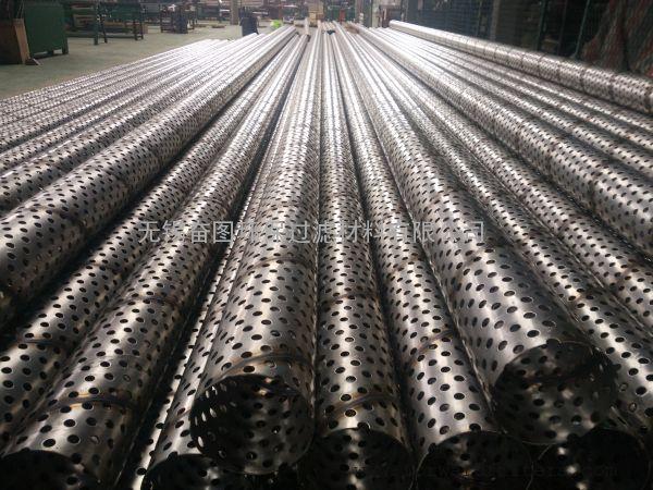 过滤管 非标不锈钢管 打孔 钻孔 螺旋 直缝 焊接 滤芯支撑管