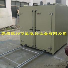 轨道推车式电机线圈烤箱 电机绝缘漆固化烤箱 电机行业烘烤箱