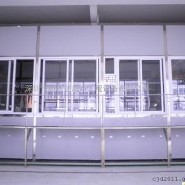 江西省南昌市全自动全封闭式铝产品阳极氧化线