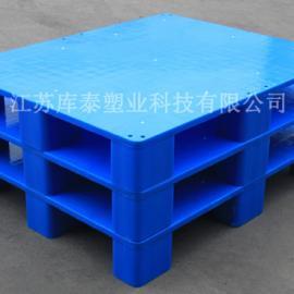 专业生产可定制塑料托盘1008九脚网格平面托盘