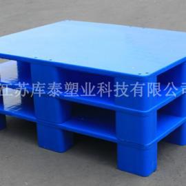 【专业生产可定制】塑料托盘1008九脚网格平面托盘