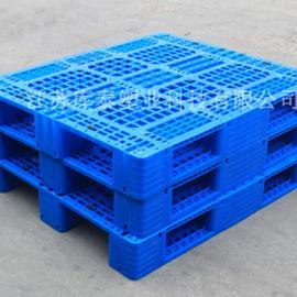 全新料塑料托盘1210网格川字托盘叉车板垫仓板