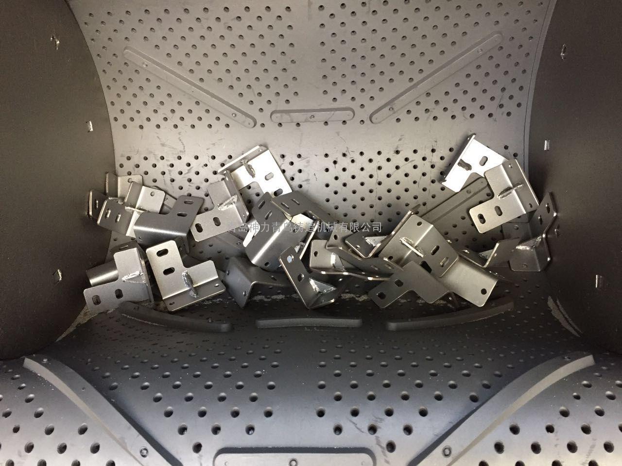 中小型冲压件履带式抛丸机