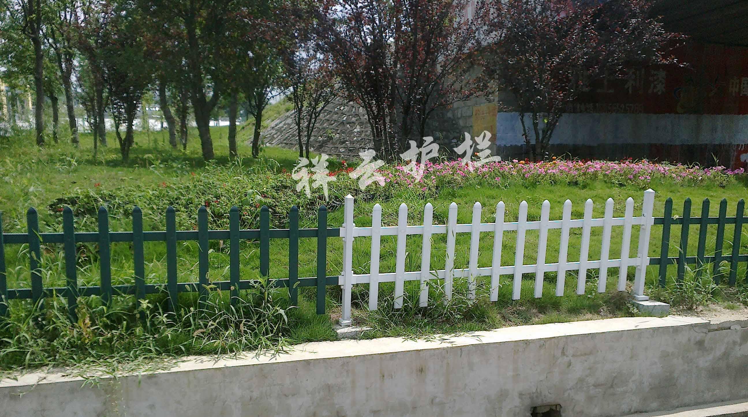 */*pvc草坪护栏 监利pvc草坪围栏 江陵pvc绿化护栏
