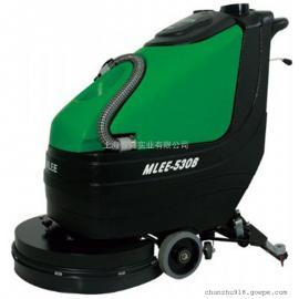 食品厂地面保洁用洗地机环氧地面用手推式电动洗地机530B