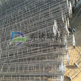 青海镀锌除尘骨架130*4000布袋袋笼架 泊头袋笼厂家