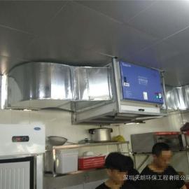 黄山酒店厨房专用油烟净化器厂家直销目测无烟