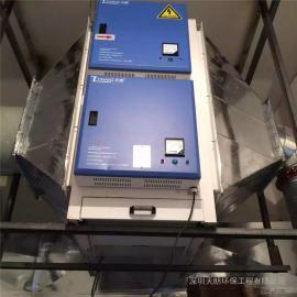 深圳市区炒炉搭档低空高效油烟净化器无烟排放全国供货保修一年