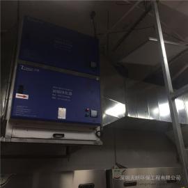 四川省自贡市油烟净化器|UV光解除味器|餐饮油烟