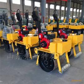 手扶式单轮压路机图片 手扶小碾子价格小型压路机生产厂家