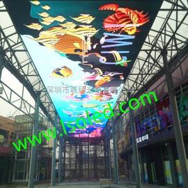 室内天幕P4高清LED电子显示屏价格