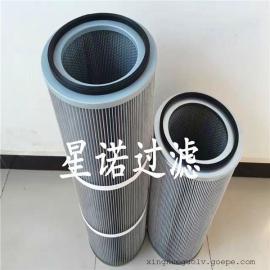 厂家直销高效防静电除尘滤芯 除尘设备防静电粉尘滤芯