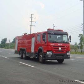 豪沃15吨水罐消防车价格