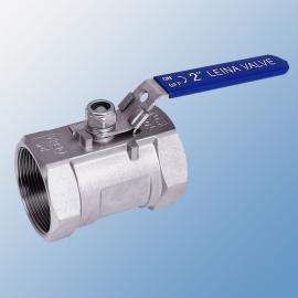 1PC带锁螺纹球阀Q11F