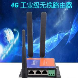 华杰智控多网口4G工业路由器支持VPN二次开发