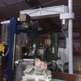 压铸机中央熔炉烟尘气治理净化设备